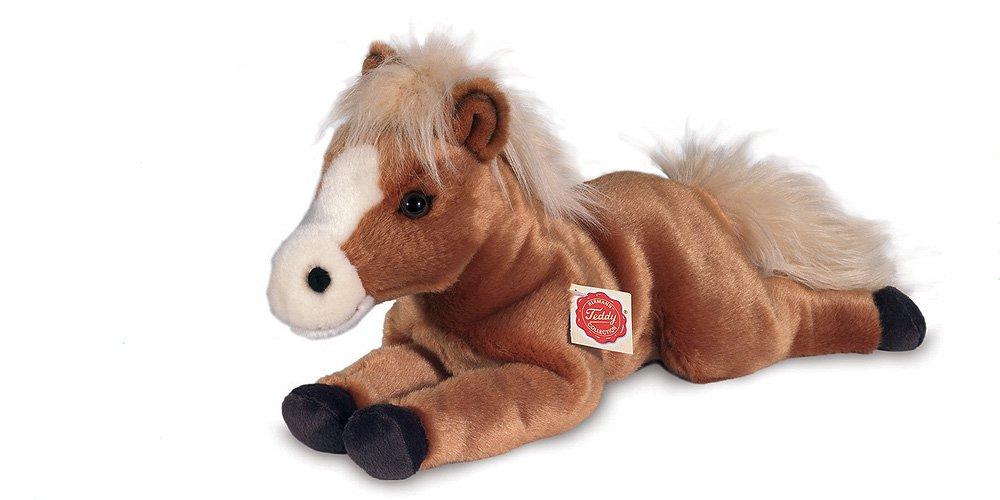 Teddy Herrmann Collection Pferd liegend hellbraun 39