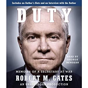 Duty: Memoirs of a Secretary at War Audiobook
