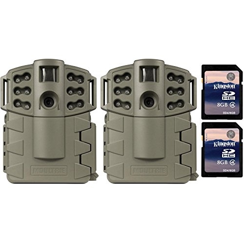 Moultrie Game Spy A-5 Gen2 Low Glow IR 5 MP Game Cameras ...