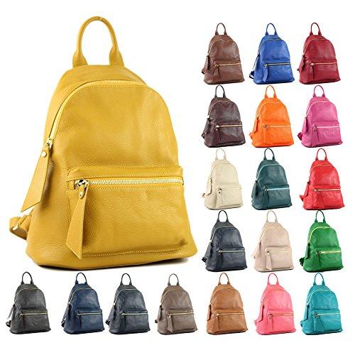 Türkis à Sac Präzise à de dos dames modamoda en sac sac en Citybag dos dos cuir Farbe Farbe 1 cuir sac T138 nur à 4wBPq5E