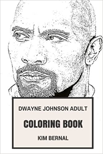 Amazon.com: Dwayne Johnson Adult Coloring Book: The Rock and ...