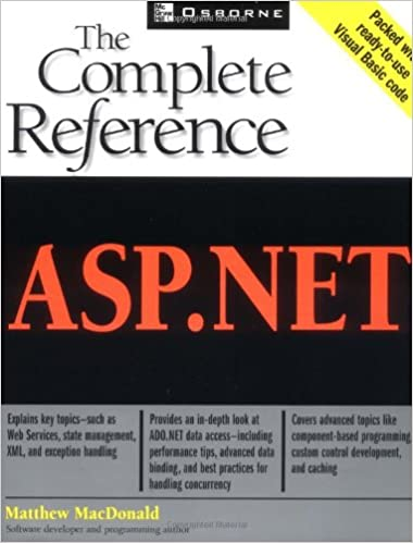 Asp.net Tata Mcgraw Hill Book