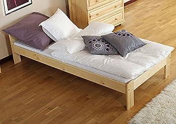 Días de cama/cama de madera maciza de pino A8, se incluyen ...