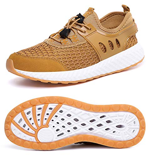 MOHEM Mens Womens Casual Mesh Water Shoes