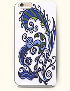 SevenArc Apple iPhone 6 4.7' 4.7 Inches Case Paisley Pattern ( Zendoodle of Leaf )