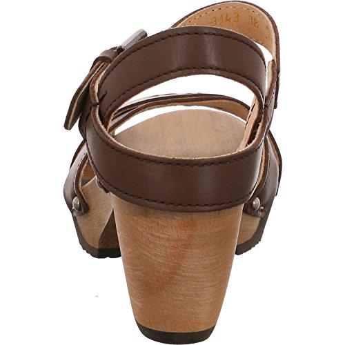 Softclox S3143 Gianna - Sandalias de vestir para mujer Marrón - marrón