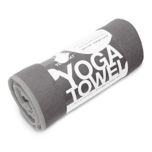 YogaRat Yoga Towel in mat-length and hand sizes