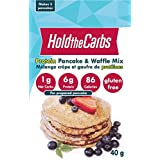 Protein Pancake and Waffle Mix, Low Carb, Gluten Free, Low Calorie, Made in Canada - makes 3 pancakes