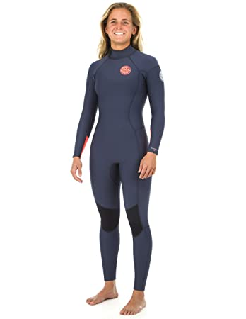 Amazon.com  Rip Curl Dawn Patrol 4 3 mm Back Zip Wetsuit - Women s - Navy   Sports   Outdoors 584ca34ac