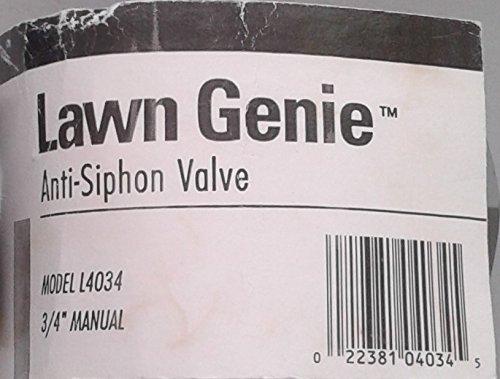 Lawn Genie Anti-Siphon Valve 3/4