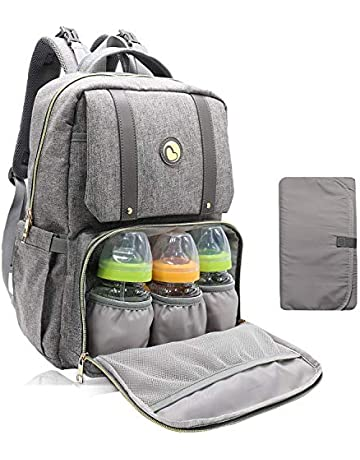 c159941213f Baby Changing Bag Backpack - Baby Bags with Changing Mat Maternity Nappy  Bag Multifunctional Rucksack for