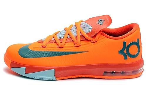 Nike KD VI (NYC 66-Rucker Park) Total Orange Armory Slate- 0e08a7ee0