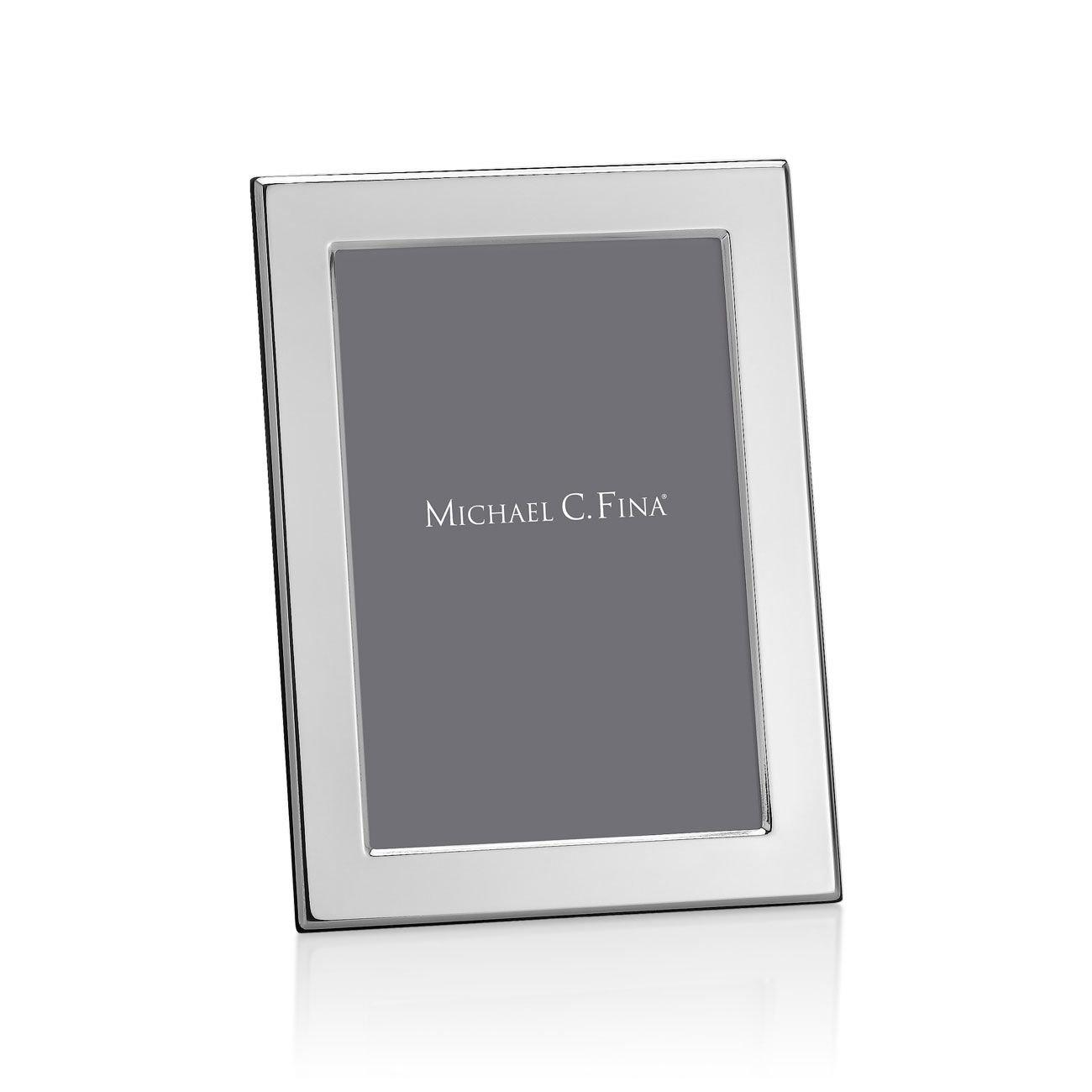 Michael C. Fina Greenwich Frame, Sterling Silver, 4-Inch-By-6-Inch
