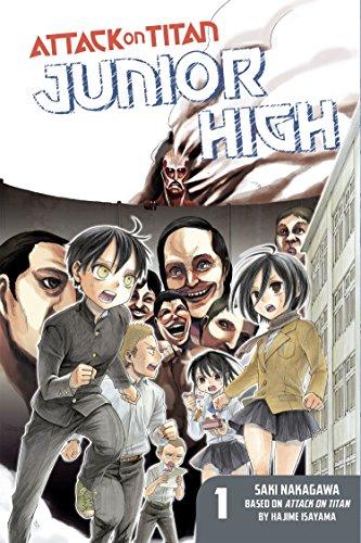 Attack on Titan: Junior High 1 by Saki Nakagawa