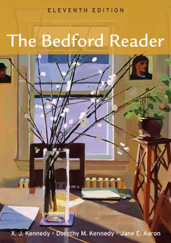 bedford reader essays Rent textbook brief bedford reader by kennedy, x j - 9781457636967 price: $1360 enter your email address to receive your offer email sign up get offer with provocative new essays and multimodal selections author biography read more.