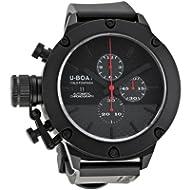 [Sponsored]U-Boat Men's 6549 Classico 53 Titanium IPB Chrono Watch