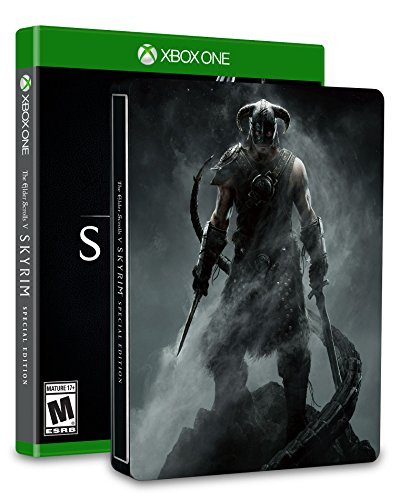 The Elder Scrolls V: Skyrim SteelBook Edition - Xbox One (Best Graphics Mods For Skyrim Xbox One)
