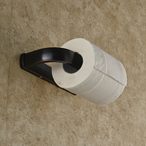 rozin oil rubbed bronze toilet paper holder wall mounted new ebay. Black Bedroom Furniture Sets. Home Design Ideas