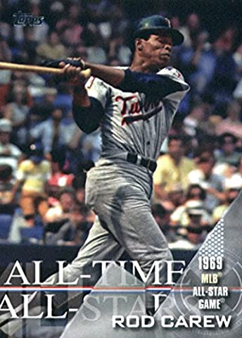 2017 Topps All-Time All-Stars #ATAS-13 Rod Carew Minnesota Twins Baseball Card - Rod Carew Baseball Card