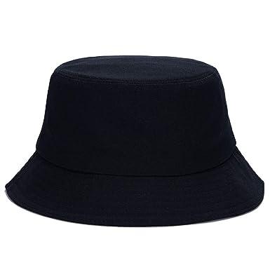 001333bab48054 Amazon.com: Quelife Bucket Hat Cotton Fishing Brim Visor Men Sun ...
