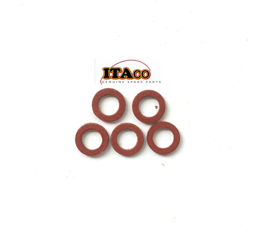 5x Washer 90430-08020 Seal Seals Gasket fit Yamaha Parsun Outboard F 2.5 - 25HP F4-03000024 Jet-ski Motorcycle Diesel Snow Mobile by ITACO