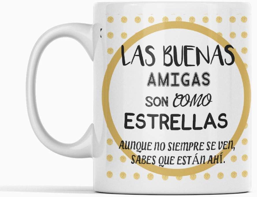 Desconocido Taza Mejor Amiga Mejores Amigas Taza cer/ámica de caf/é Amistad