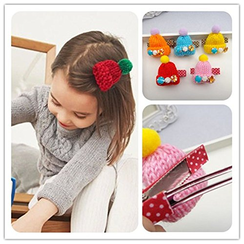 [Beautiful Wool Hat Design Women Girl Winter Hairpins/Hair Clips Claw Accessories] (Hammer And Nail Halloween Costumes)