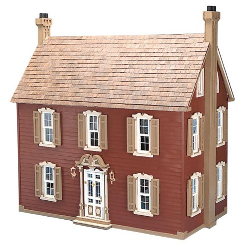 Greenleaf Willow Dollhouse Kit – 1 Inch Scale, Baby & Kids Zone