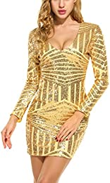 Amazon.com: Gold - Dresses / Clothing: Clothing- Shoes &amp- Jewelry
