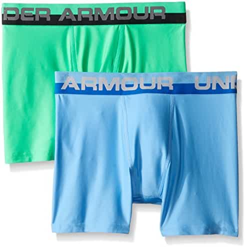 Under Armour Boys Original Series Boxerjock (2 Pack)