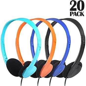 Amazon.com: Bulk Low Cost - Auriculares estéreo (25 unidades ...