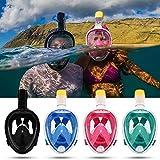 MOUNTDOG Snorkel Mask Full Face Snorkeling Mask