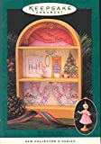 Hallmark Nutcracker Handcrafted Ornament and Display Stage Dated 1996