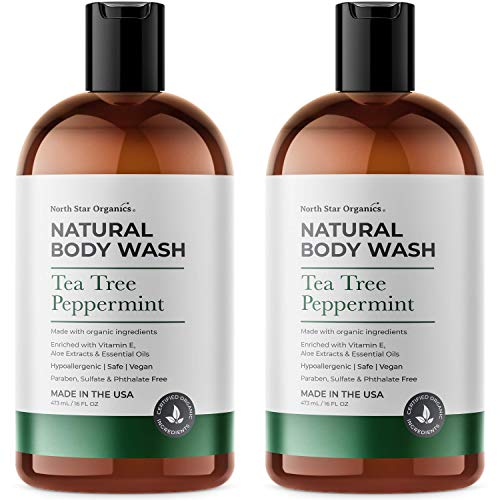 Tea Tree Body Wash with Peppermint