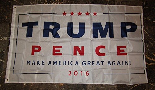 3x5 Trump & Pence Make America Great Again 2016 Flag 3'x5' Banner