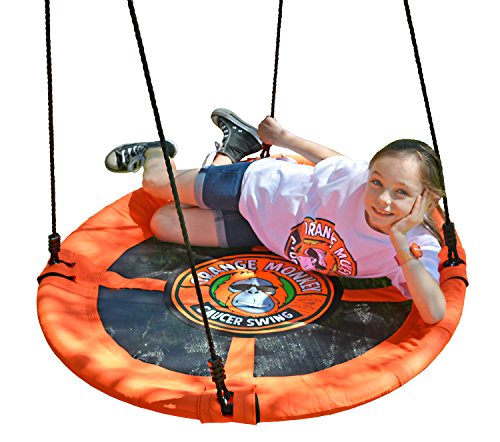 Lifestyle California Set Chair - Flying Saucer Swing | Saucer Swing Will Help Your Child To Soar | (Lead Free) Steel Frame Easily Holds 685 Pounds | Passed 11 Product Safety Tests | Very Safe For Your Child | Multiple Kids Can Swing