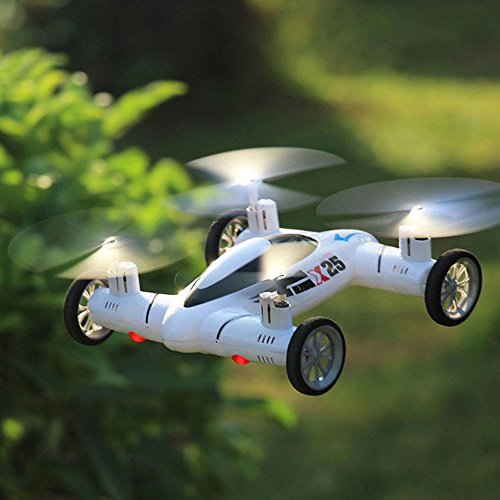 Taotuo Flying Quadcopter Car Remote Control Car And