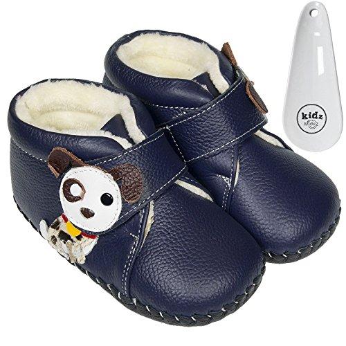 FREYCOO - Botas para niño Azul azul marino ZwkBUotCXh
