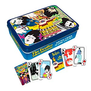Beatles Yellow Sub Playing Card Tin Set
