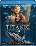 Titanic (Four-Disc Combo: Blu-ray 3D / Blu-ray / Digital Copy) by Paramount