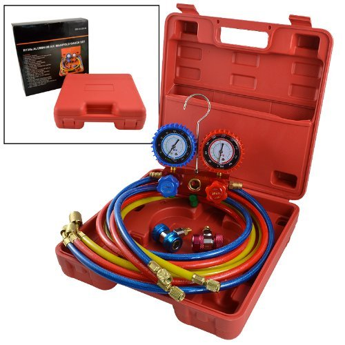 Cal Hawk Tools CZFCGA Manifold Gauge Set