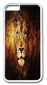 Fantastic Faye Design With PC Mother Children Grass Yellow Brown White Cute Scary Open Mouth Shout Cell Phone Cases For iPhone 6 transparent Hard Cases No.7
