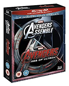 Avengers Age Of Ultron/Avengers Assemble Doublepack [Blu-ray 3D] from Disney