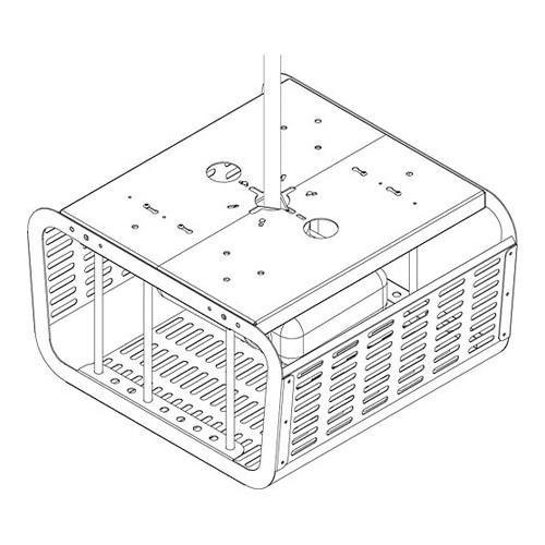 Projector Enclosure Black (Requires Projector - Projector Cage