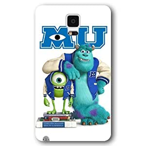Customized White Disney Cartoon Monsters University Samsung Galaxy Note 4 Case