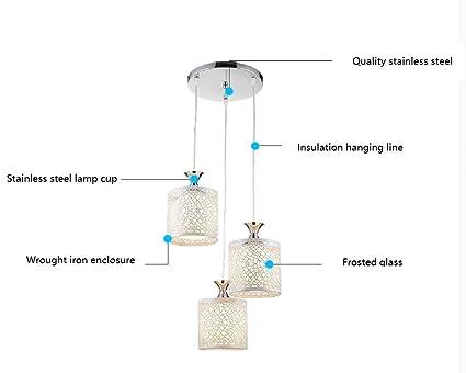 pendente di cristallo minimalista lampada moderno ristorante ...
