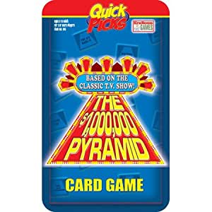 Quick Picks Pyramid Travel Card Game in a Tin