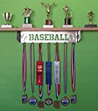 metal and trophy display shelf - Baseball Trophy Shelf and Medal DIsplay