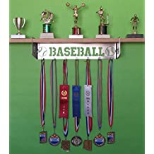 Baseball Trophy Shelf and Medal DIsplay