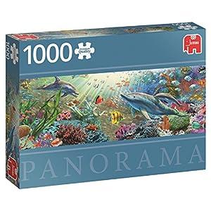 Premium Collection 18519 Water Paradise Panoramic Puzzle Da 1000 Pezzi